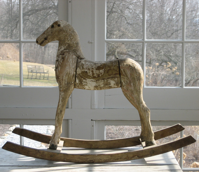 antique wooden rocking horse plans